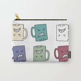 Yes Coffee - No Coffee Carry-All Pouch