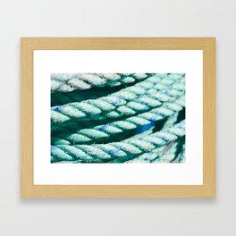 Nautical Rope II Framed Art Print