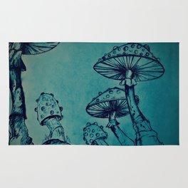 Mushroom Garden Rug