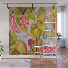 Begonias Wall Mural