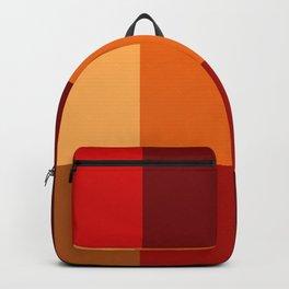 BLOCKS - RED TONES - 2 Backpack