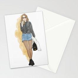 Fashion: coffee love! Stationery Cards