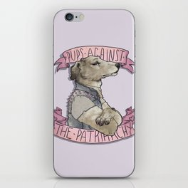 Pups against the Patriarchy  iPhone Skin