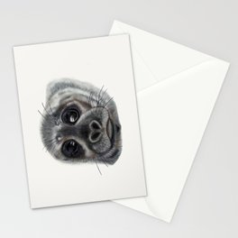 Bright-Eyed Seal Stationery Cards