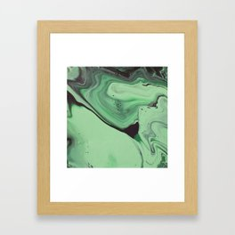 Malachite 1 Framed Art Print