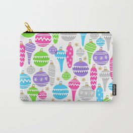 Jolly Ornaments Carry-All Pouch