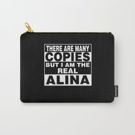 I Am Alina Funny Personal Personalized Gift Carry-All Pouch