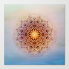 Asterisk Mandala Canvas Print