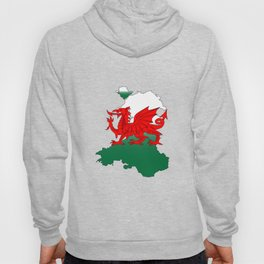 Wales and the Dragon Hoody