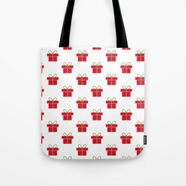 Christmas gifts - red and white Tote Bag