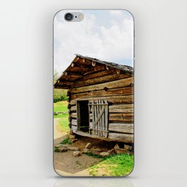 Historic Log Cabin iPhone Skin