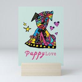 Puppy Lov Mini Art Print