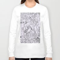 gizmo Long Sleeve T-shirts featuring Gizmo mouse by Nixynakks