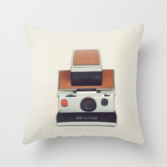 SX-70 POLAROID  Throw Pillow