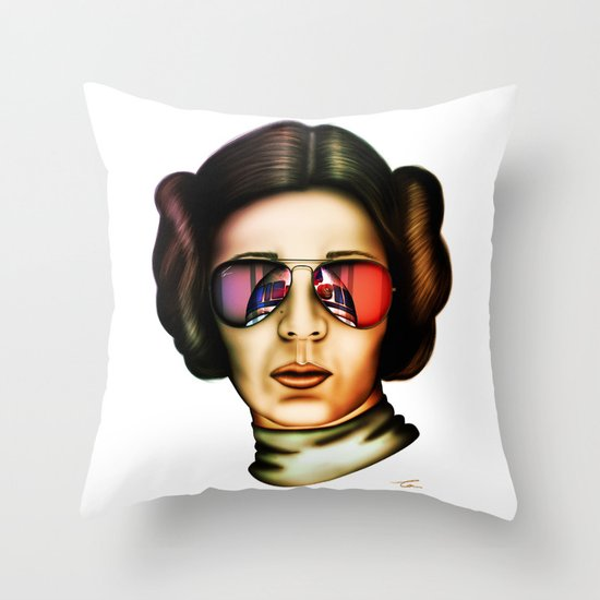STAR WARS Princess Leia  Throw Pillow