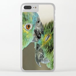 Forever in love Clear iPhone Case