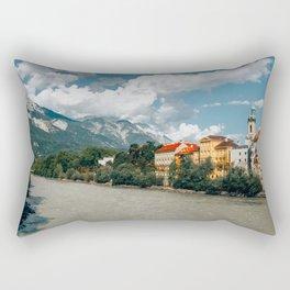 Rivers Flow Inn You   Innsbruck, Austria Rectangular Pillow