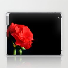 Red on black Laptop & iPad Skin