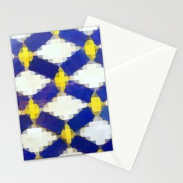 Moroccan Mosaic Tiles Stationery Cards