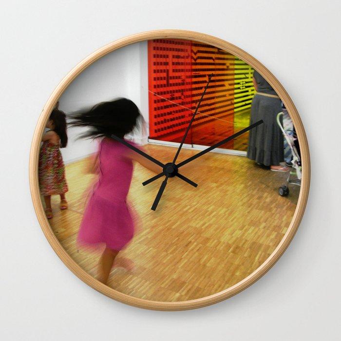 The twirl Wall Clock