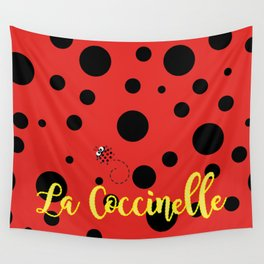 La Coccinelle Wall Tapestry