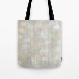 Blah... Tote Bag