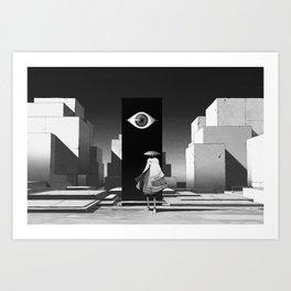 旅行者 | Traveler Art Print