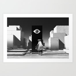 旅行者   Traveler Art Print