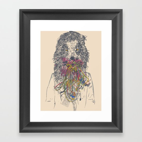 Social Feed Framed Art Print