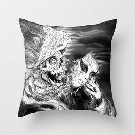 Beneath Throw Pillow