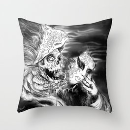 Beneath Throw Pillow