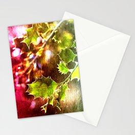 Festive Holly Stationery Cards