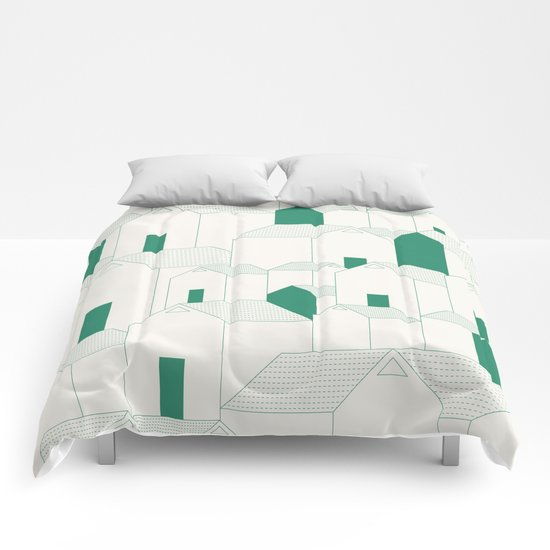 Hill Houses Comforters