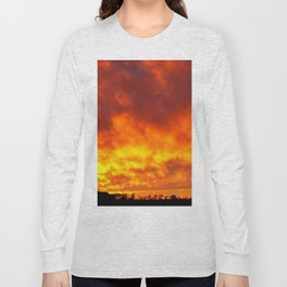 Sunset - Fiery Sky Long Sleeve T-shirt