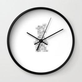 Manic Miner Wall Clock