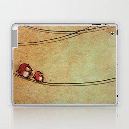 Rustic Bird Print, Country, Chic Look Laptop & iPad Skin