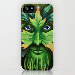 The Greenman iPhone Case
