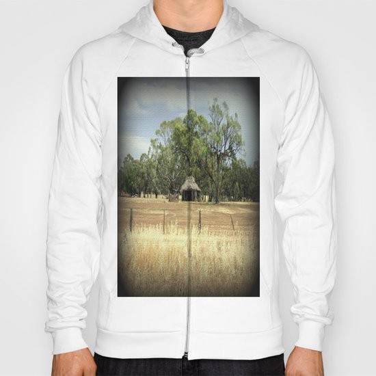 Mid 1800s Thatched Barn Hoody