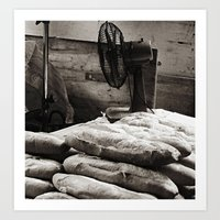 bread Art Prints featuring Bread  by Ethna Gillespie