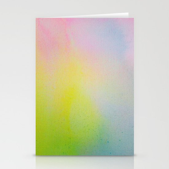 Color Field/Washes III Stationery Cards