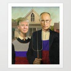 Make America Gothic Again Art Print