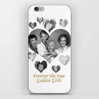 golden girls iPhone & iPod Skins featuring The Golden Girls by BeeJL