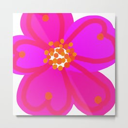Cheery Cherry Metal Print