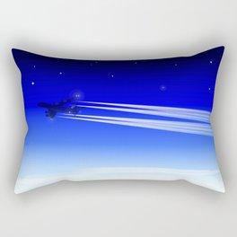 Jet Heading Home Rectangular Pillow
