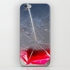 Umbrella Blues 4 iPhone & iPod Skin