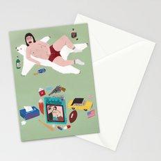 Sexy Bachelor Pattern Stationery Cards