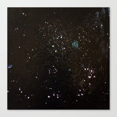 Southern Constellations (Process) Canvas Print