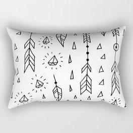 Diamonds, arrows & feathers Rectangular Pillow