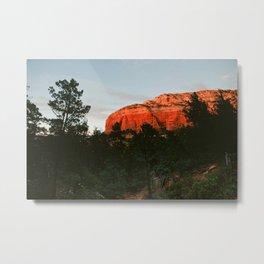 Red Rock Mountain in Sedona AZ Metal Print