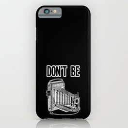 Photography Gift Vintage Photographers T-shirt iPhone Case